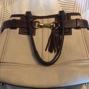 Amazingly beautiful leather coach bag
